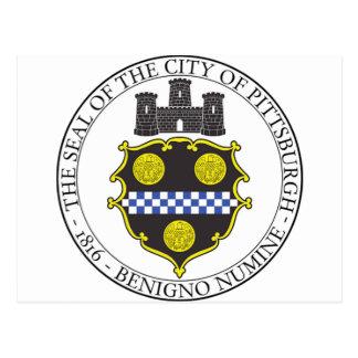 Carte Postale Joint de ville de Pittsburgh