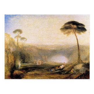 Carte Postale Joseph Mallord Turner - la branche d'or