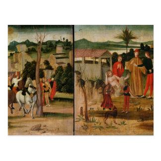 Carte Postale Joshua aux murs de Jéricho