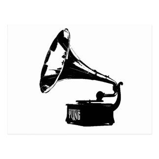 Carte Postale Joueur de phonographe