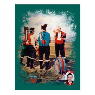 Carte Postale Joueurs de cornemuse/Gaiteiros/Pipers