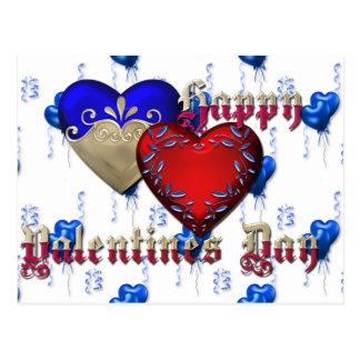 Carte Postale Jour de la Saint Valentin