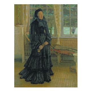 Carte Postale Jour pluvieux de Marie Zacharias, 1904