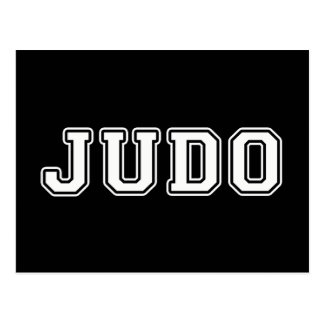 Carte Postale Judo