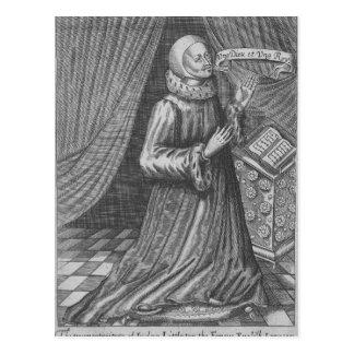 Carte Postale Juge Thomas Littleton, 1628