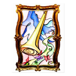 Carte Postale Jugement d'or