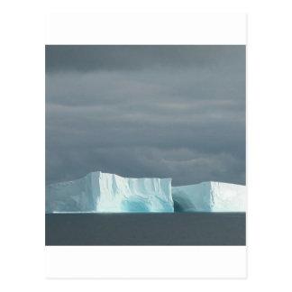 Carte Postale Jumeaux de glacier d'océan de nature