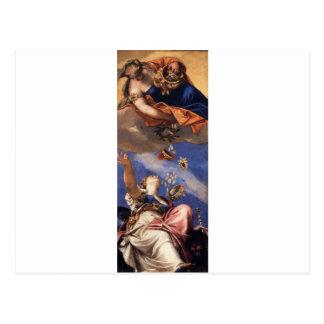 Carte Postale Juno versant des cadeaux sur Venetia par Paolo