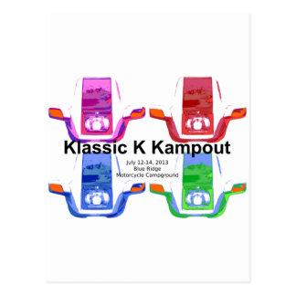 Carte Postale Kampout VI 2013 de Klassic K