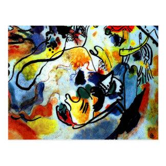 Carte Postale Kandinsky - dernier jugement