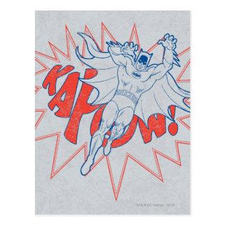 Carte Postale KAPOW ! Graphique de Batman