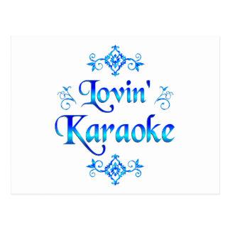 Carte Postale Karaoke de Lovin