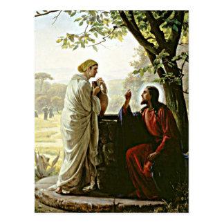 Carte Postale Karl Bloch : Femme à la peinture bonne