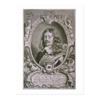Carte Postale Karl Gustav Wrangel (1603-73) de 'DES de portraits