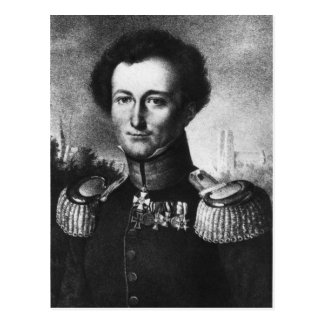Carte Postale Karl von Clausewitz