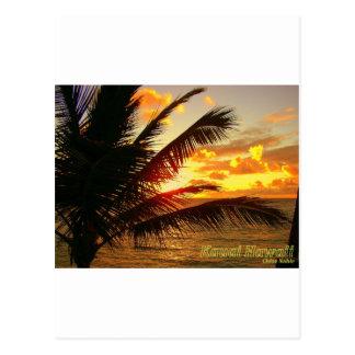 Carte Postale Kauai Hawaï à l'aube