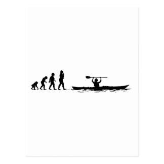 Carte Postale Kayaking