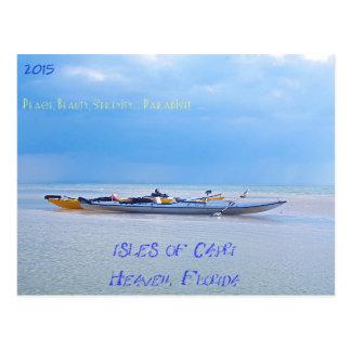 Carte Postale Kayaking dans les îles