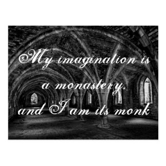 Carte Postale Keats quote on imagination