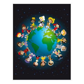 Carte Postale Kidz du monde