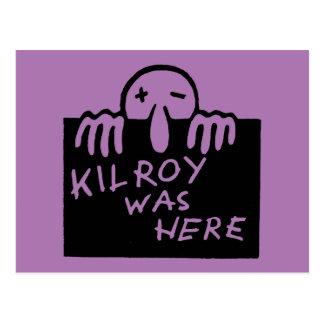 Carte Postale Kilroy était ici