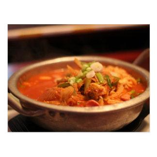 Carte Postale Kimchi Jjigae (soupe)