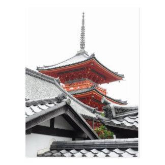 Carte Postale Kiyomizu-dera Kyoto