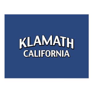Carte Postale Klamath la Californie