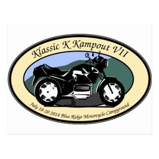 Carte Postale Klassic K Kampout VII