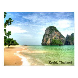 Carte Postale Krabi, Thaïlande