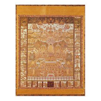 Carte Postale Kshitigarbha, juge d'enfer, de Dunhuang
