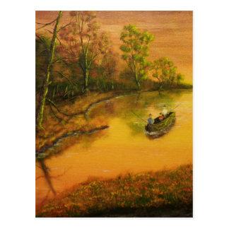 """Carte Postale La """"allée du pêcheur"""" par Jack Lepper"""