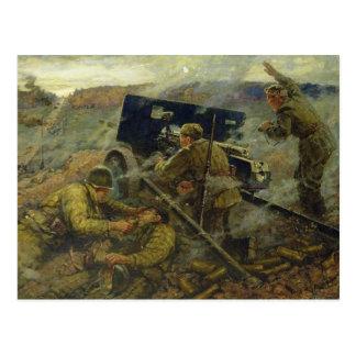 Carte Postale La bataille de Yelnya près de Moscou en 1941