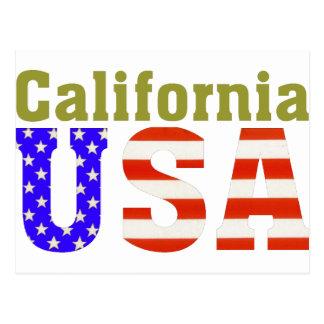 Carte Postale La Californie Etats-Unis !