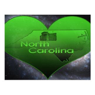Carte Postale La Caroline du Nord à la maison