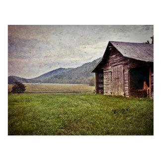Carte Postale La Caroline du Nord americana rurale