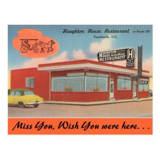 Carte Postale La Caroline du Nord, Chambre de Houghton,