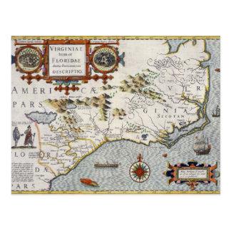 Carte Postale La Caroline du Nord, intitulée 'article de