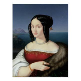 Carte Postale La Caroline Grossi, la première épouse de