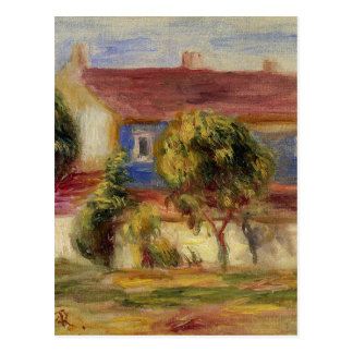 Carte Postale La Chambre de l'artiste s par Pierre-Auguste