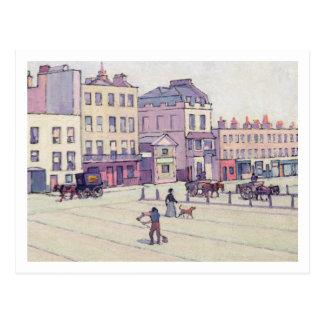Carte Postale La Chambre de pesage, marché de Cumberland, c.1914