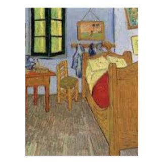 Carte Postale La chambre de Vincent Van Gogh (The room)