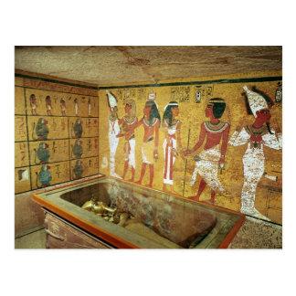 Carte Postale La chambre d'enterrement dans la tombe de