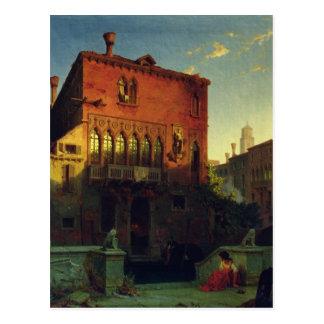 Carte Postale La Chambre d'Othello, Moore à Venise, 1856