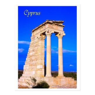 Carte Postale La Chypre le temple d'Apollo