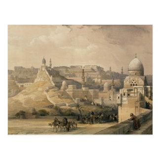 """Carte Postale La citadelle du Caire, de """"Egypte et Nubia """""""