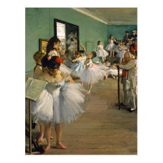 Carte Postale La classe de danse par Edgar Degas