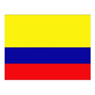 Carte Postale La Colombie
