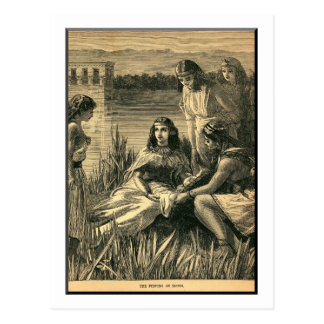 Carte Postale La conclusion de Moïse, bible, cru