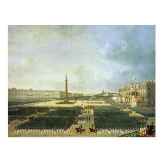 Carte Postale La consécration de la colonne d'Alexandre
